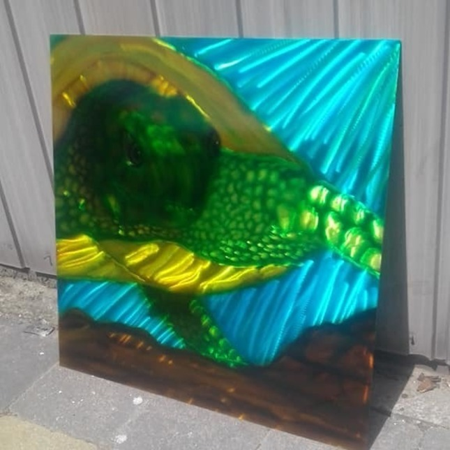 Freds Airbrush Art -  Fotoalbum - Metal art