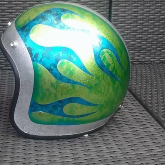 Freds Airbrush Art -  Fotoalbum - Airbrush - Helmen